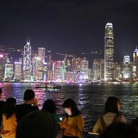 香港ヴィクトリア・ハーバーの夜景 3
