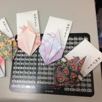 折鶴のポチ袋その3