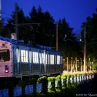 弘南鉄道の「水間鉄道ラッピング電車」は元気に運行開始!