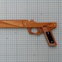 競技用ゴム銃の制作
