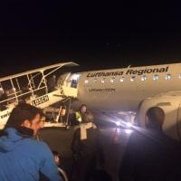 フライブルクへ。羽田→ミュンヘン→バーゼル→フライブルク