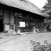 茅葺民家 長野県旧三水村の民家