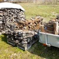 薪の移動開始