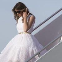 <タオルミナサミット>メラニア・トランプ夫人、G7サミットで「主役」 国首脳の配偶者らで別格扱い