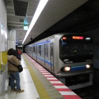 2016年11月19日 東京さ行っただ! その5 (りんかい線や新宿駅ホームなど)