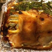 鶏モモ肉の蜂蜜醤油焼き