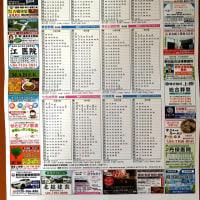 新しい【野田市  東武鉄道時刻表】