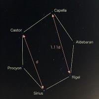 『天球の歩き方 計算編』#5 〜冬のダイヤモンドはどんな六角形か〜
