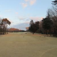 今日はゴルフです。