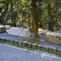 まち歩き伏0286  伏見城築城につかわれていた石