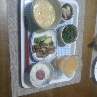 姑のある日の夕食