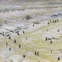 154.立町吹雪で埋まる