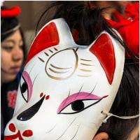祭りの日・白狐
