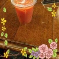 ブラッドオレンジジュース@羽田空港