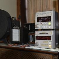 最近は録音したMDがメインソースになりつつある