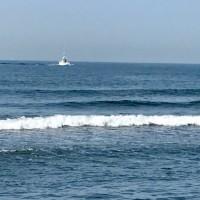 夏だー 大潮 引潮