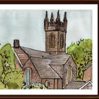 愛蘭土旅行シリーズ その5 ブッシュミルズ村の教会