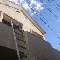 倉敷市玉島で防水層改修工事スタート