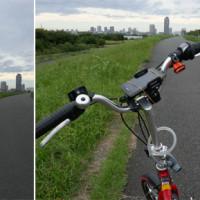 荒川土手サイクリング