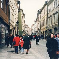 初海外1990 チェコスロバキア&DDR-03~プラハの中心 旧市街広場