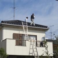 雨宮日記 3月19日(土) 屋根の瓦を直すことに決まりました