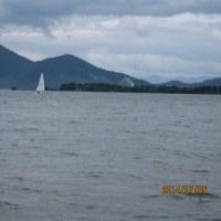 ディンギー練習 7/6at マイアミランド・琵琶湖