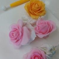 フォンダンの薔薇でデコカップレッスン!