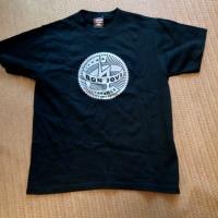 Bon Jovi Tシャツもらった