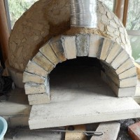 石窯の修理