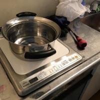 ワンルームマンションのミニキッチンのコンロを交換