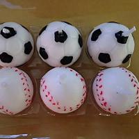 サッカーボール&野球ボール(*^^*)