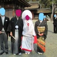 3/19兄さんとサトちゃん結婚式