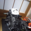 SDR 200 クランク室補修