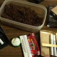 紙巻き煙草の加湿。