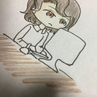 初めてのポスター☆孫が作ってくれました。