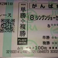 シングンジョーカー(シングンオペラ産駒)勝ちましたね!!!(泣)