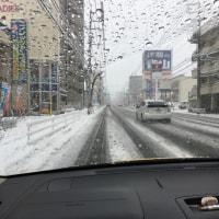 広島は大雪警報