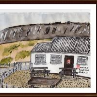 アイルランド旅行シリーズ その1 キャリック・ア・リード海岸入口