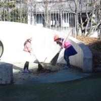 12月2日(金) CSクリーン活動(落ち葉掃き) ・ CS焼き芋の会 ・ 落ち葉いりませんか? ・  リサイクル活動 ・ 手洗い指導 ・ クラブ活動