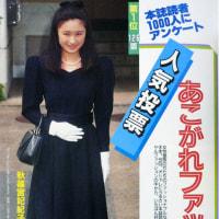 礼宮文仁親王と川嶋紀子さんの婚約が決定。