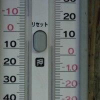 平成29年2月20日・今朝の東祖谷4.2℃