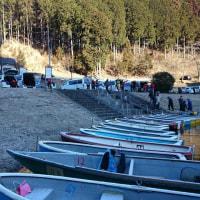 2017年2月26日  東小屋湖  解禁前事前調査