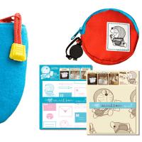 ドラえもんのポケットポーチと、コインケース、はんぶん丈手ぬぐいが、2月19日から郵便局限定で販売開始 !!