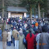 諏訪大社初詣