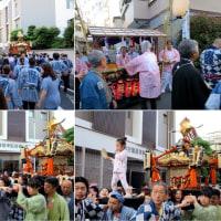 地元の祭り御輿