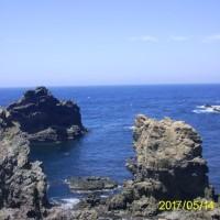 西ノ島国賀海岸へ行ってみた。(自転車で)