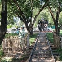 ミャンマー  旧日本軍とのかかわり 泰緬鉄道建設のミャンマー側起点タンビュッザヤ