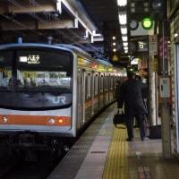 205系M62編成むさしの号八王子行@立川駅