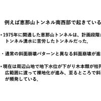 「例えば恵那山トンネル南西部で起きていること」 (徳竹真人さん)