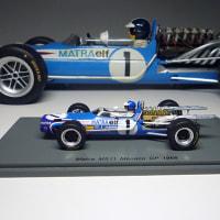 spark  models   /  MATRA  MS 11  : MONACO 1968